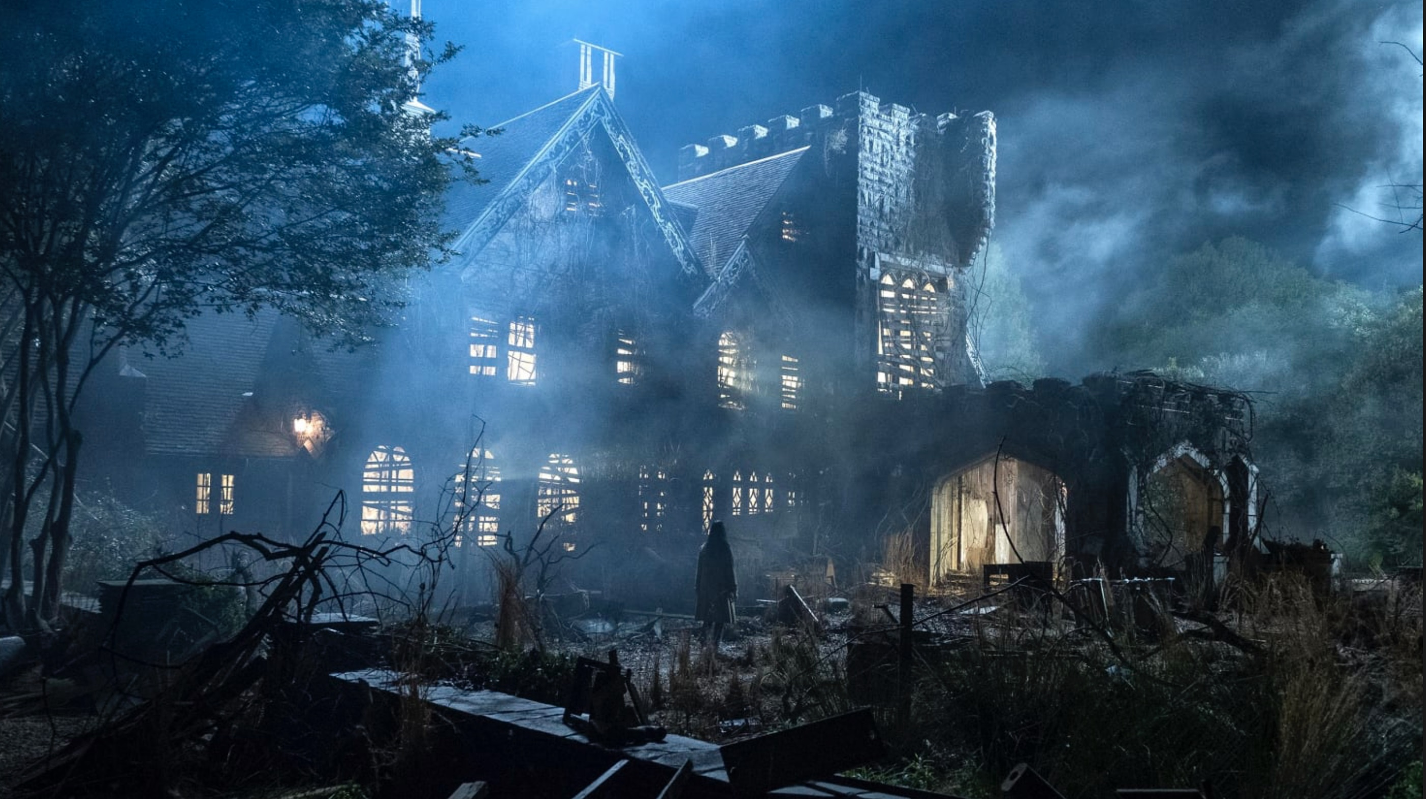 Hill House in The Haunting of Hill House (2018)