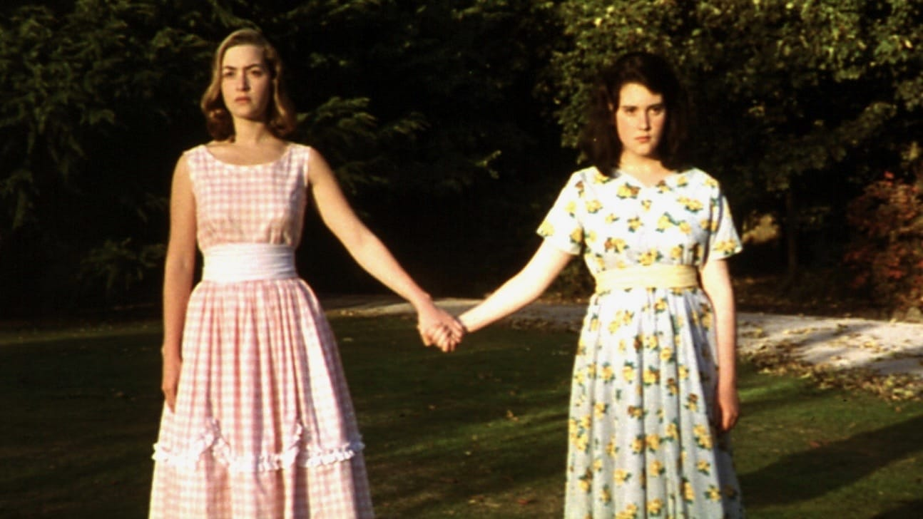 Juliet Hulme (Kate Winslet) and Pauline Parker (Melanie Lynskey) in Heavenly Creatures (1994)