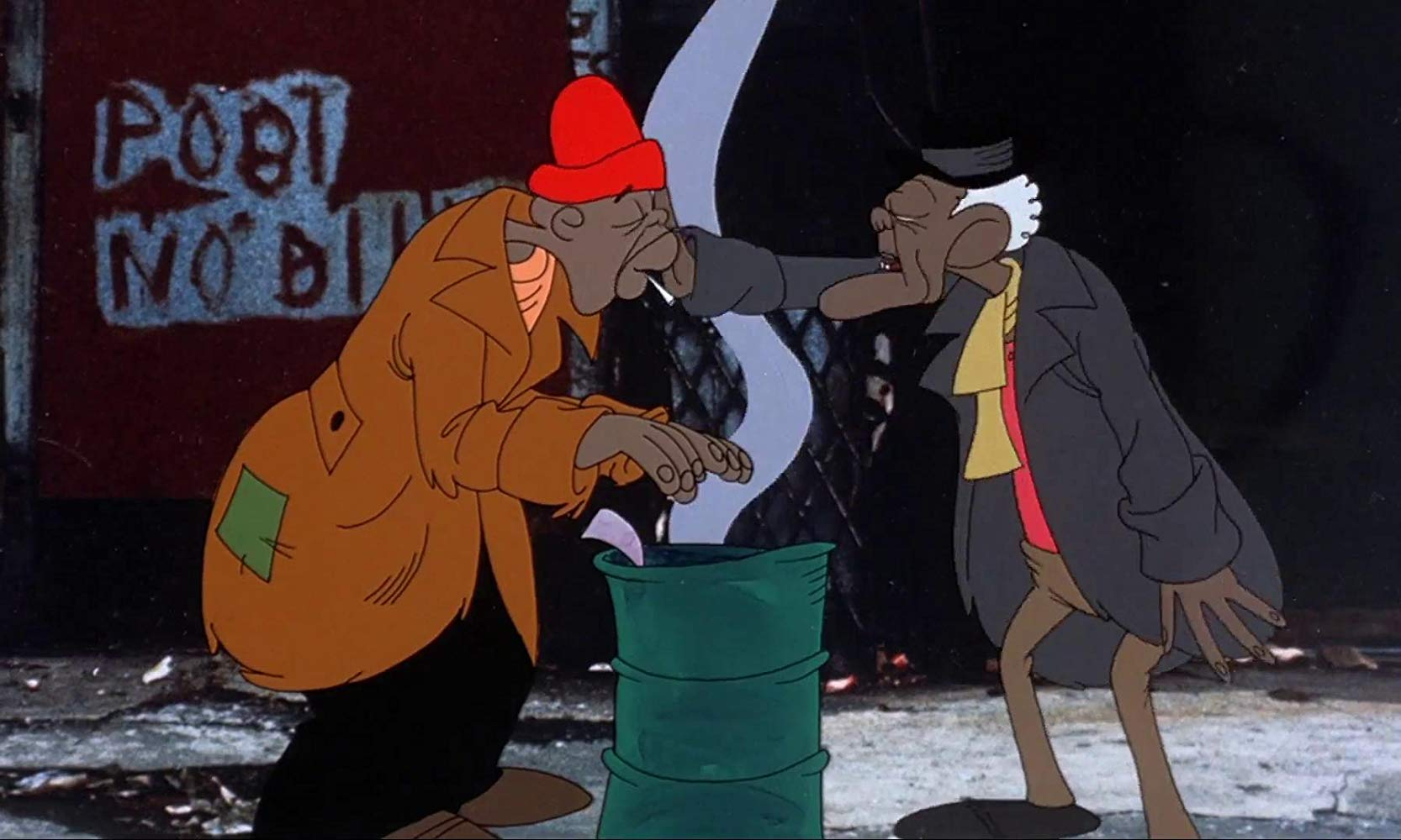 Ralph Bakshi's earthy depiction of life on the streets of Brooklyn in Heavy Traffic (1973)