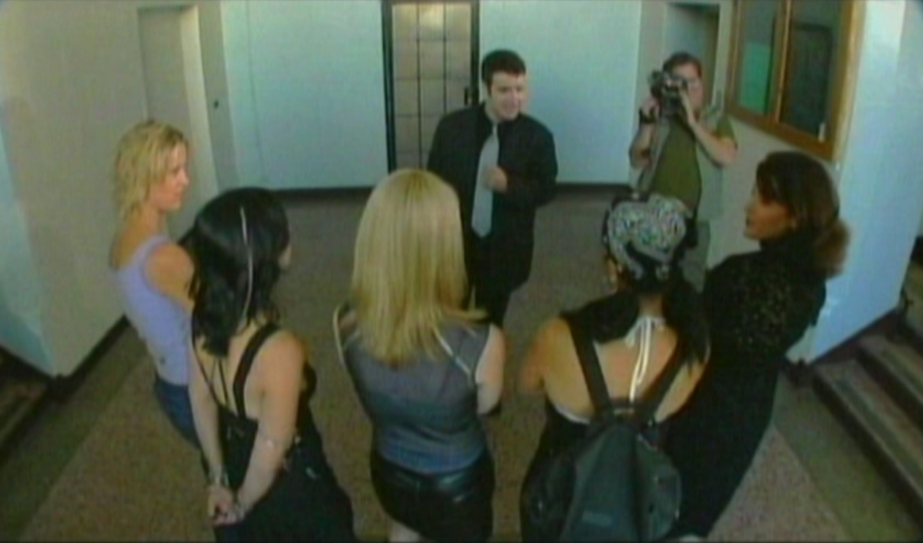 The contestants are introduced in Hell Asylum (2002)