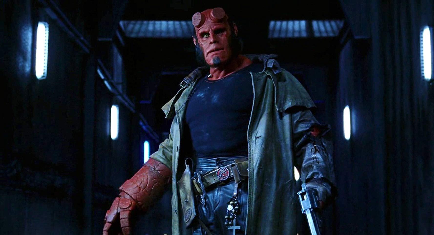 Ron Perlman as Hellboy (2004)