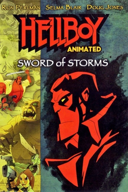 Hellboy Animated Sword of Storms (2006) poster