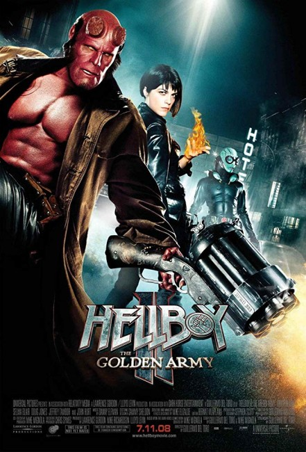 Hellboy II: The Golden Army (2008) poster