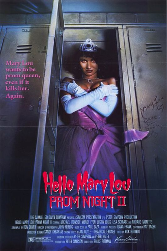 Hello Mary Lou: Prom Night II (1987) poster