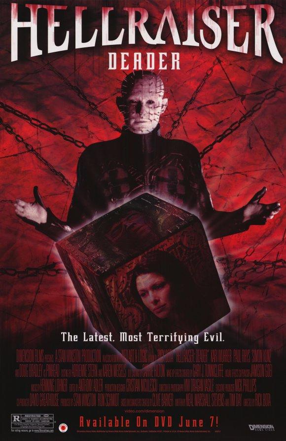 Hellraiser Deader (2005) poster