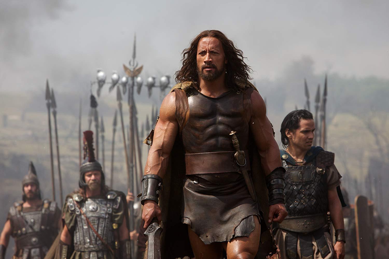Dwayne Johnson as Hercules (2014)