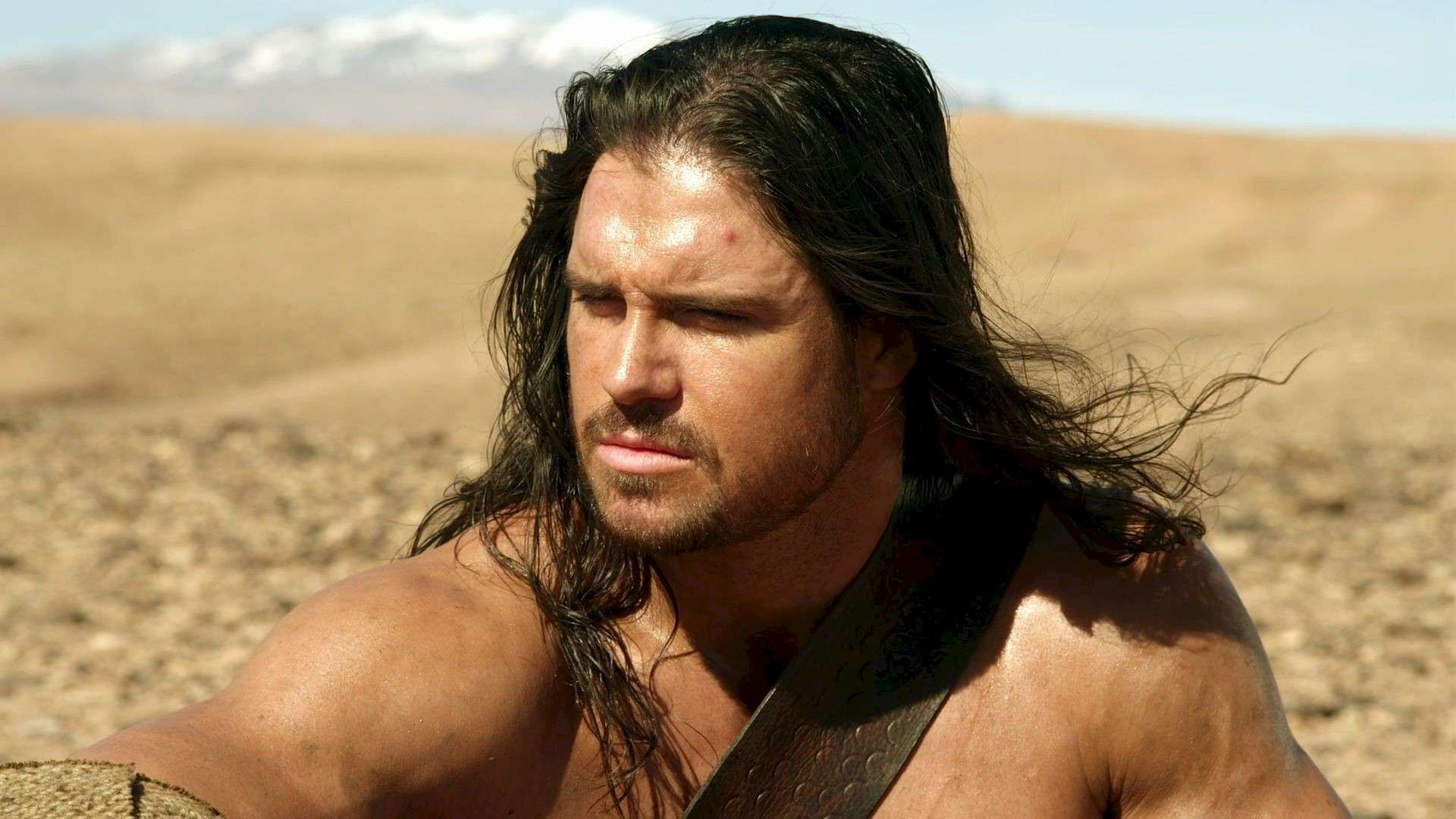Wrestler John Hennigan as Hercules in Hercules Reborn (2014)