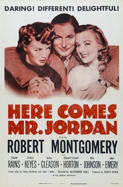Here Comes Mr Jordan (1941) poster