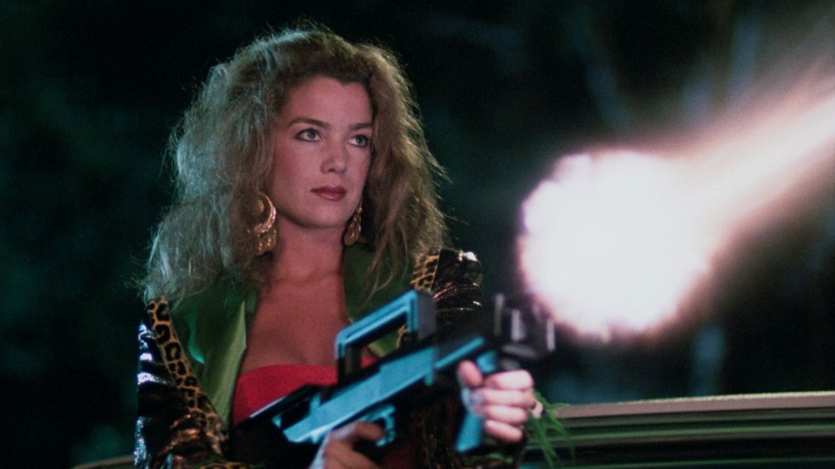 An alien-possessed Claudia Christian in The Hidden (1987)
