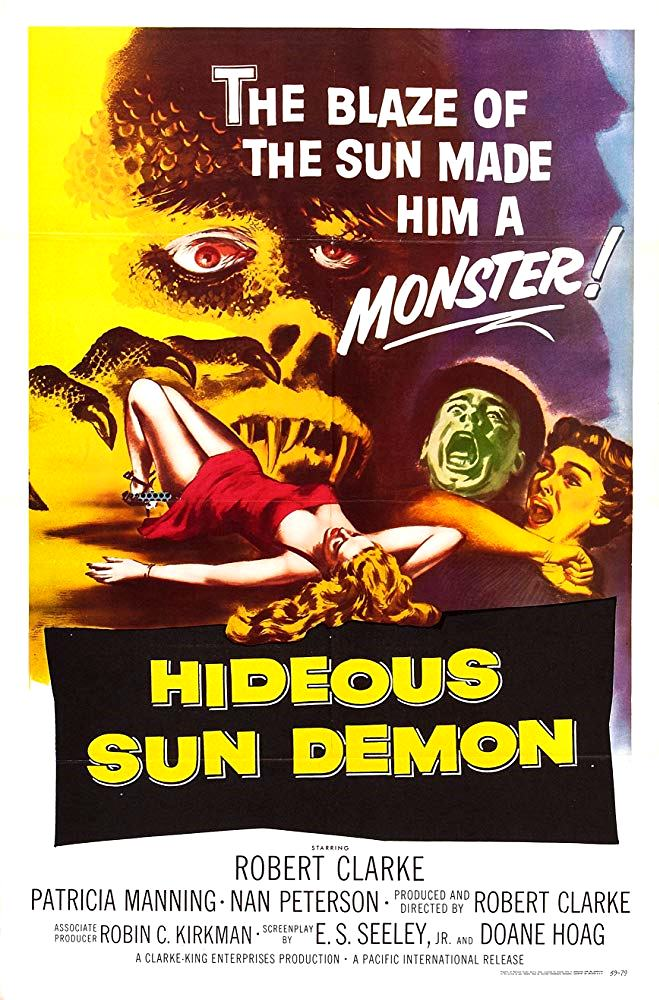 The Hideous Sun Demon (1959) poster