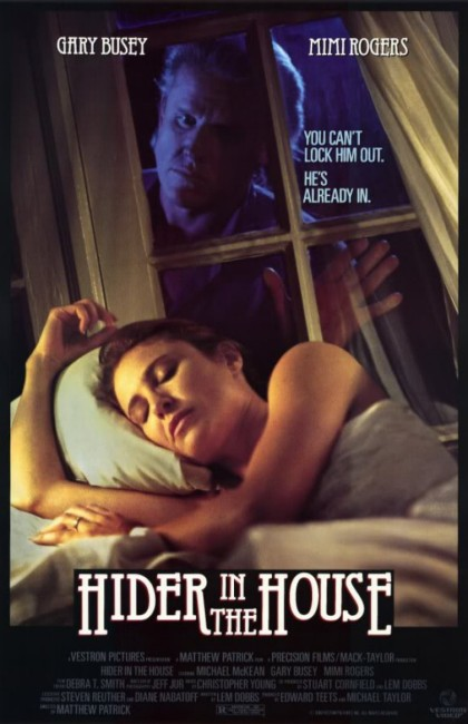 Hider in the House (1989) poster