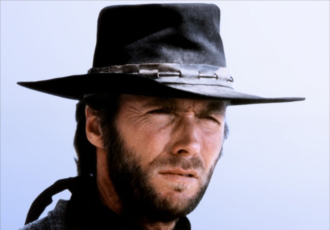 Clint Eastwood as The Stranger in High Plains Drifter (1973)