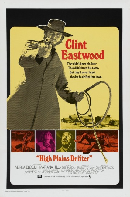 High Plains Drifter (1973) poster