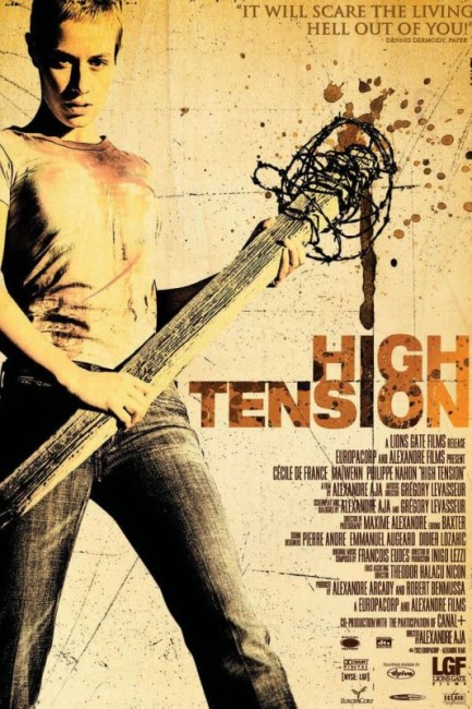 High Tension (2003) poster