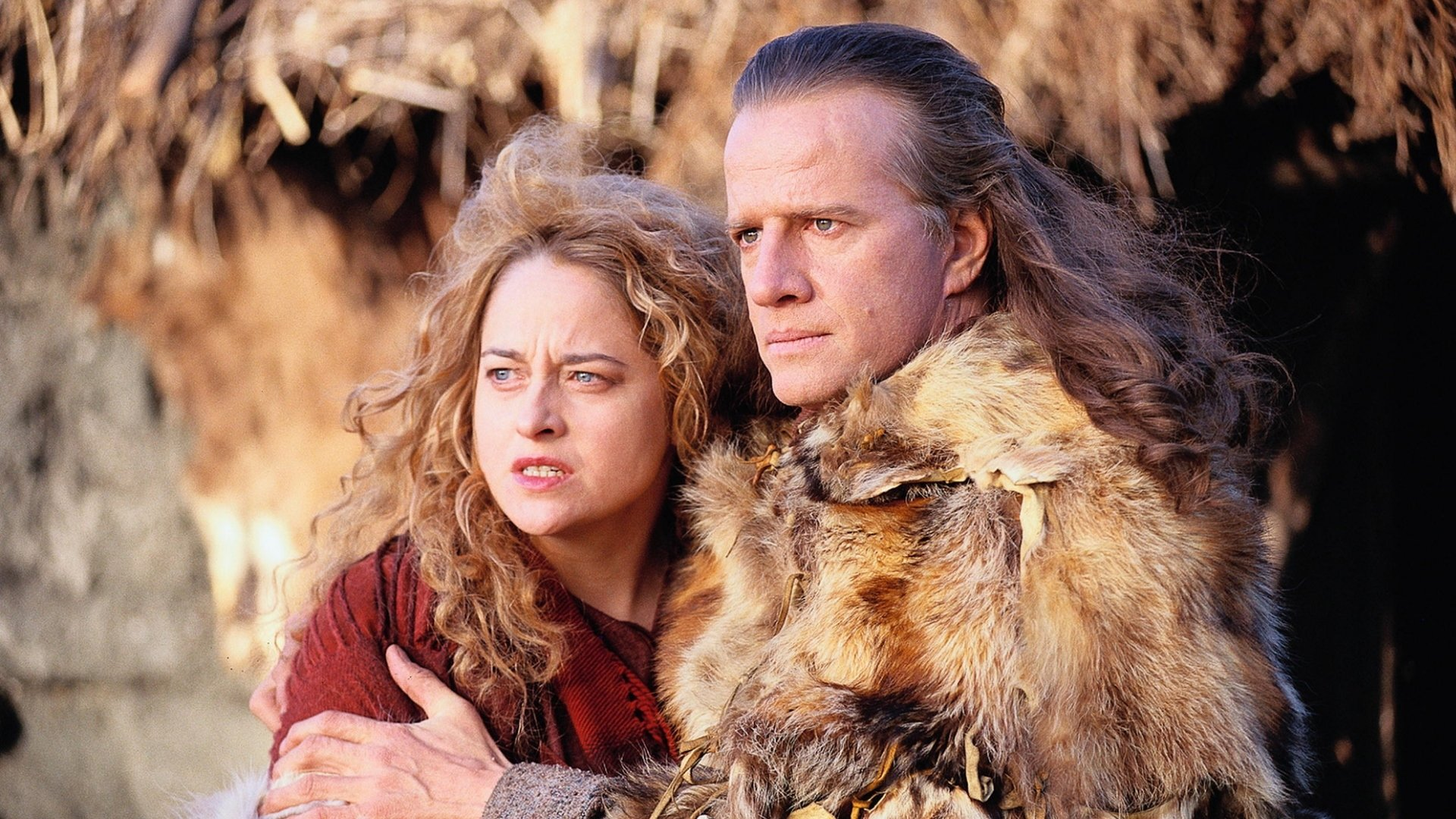 Christoher Lambert, no longer quite the immortal he was fourteen years earlier, reunited with Beatie Edney, his love from the first film in Highlander: Endgame (2000)
