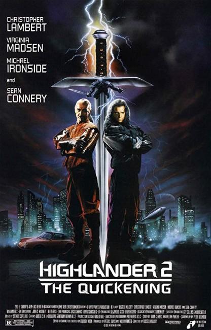 Highlander II: The Quickening (1991) poster