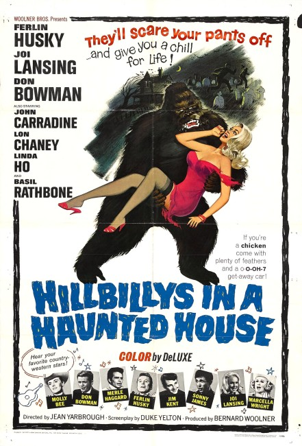 Hillbillys in a Haunted House (1967) poster