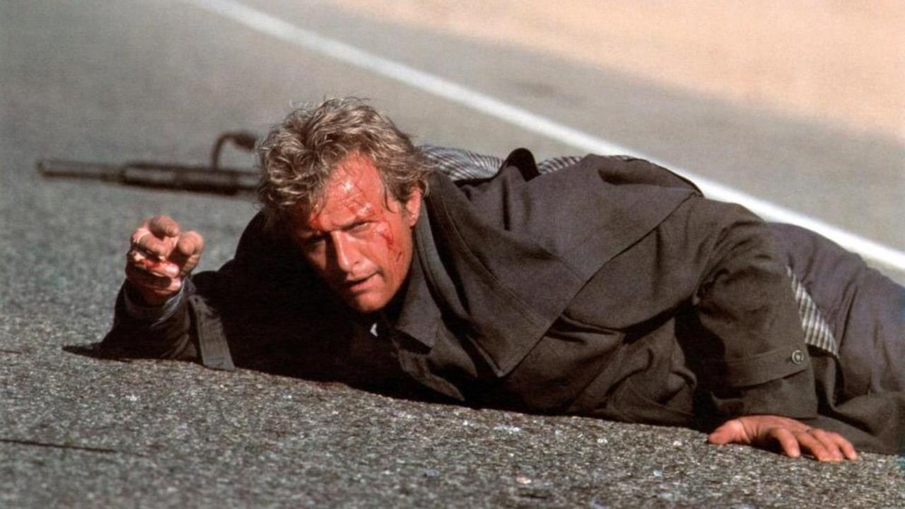 Rutger Hauer as The Hitcher
