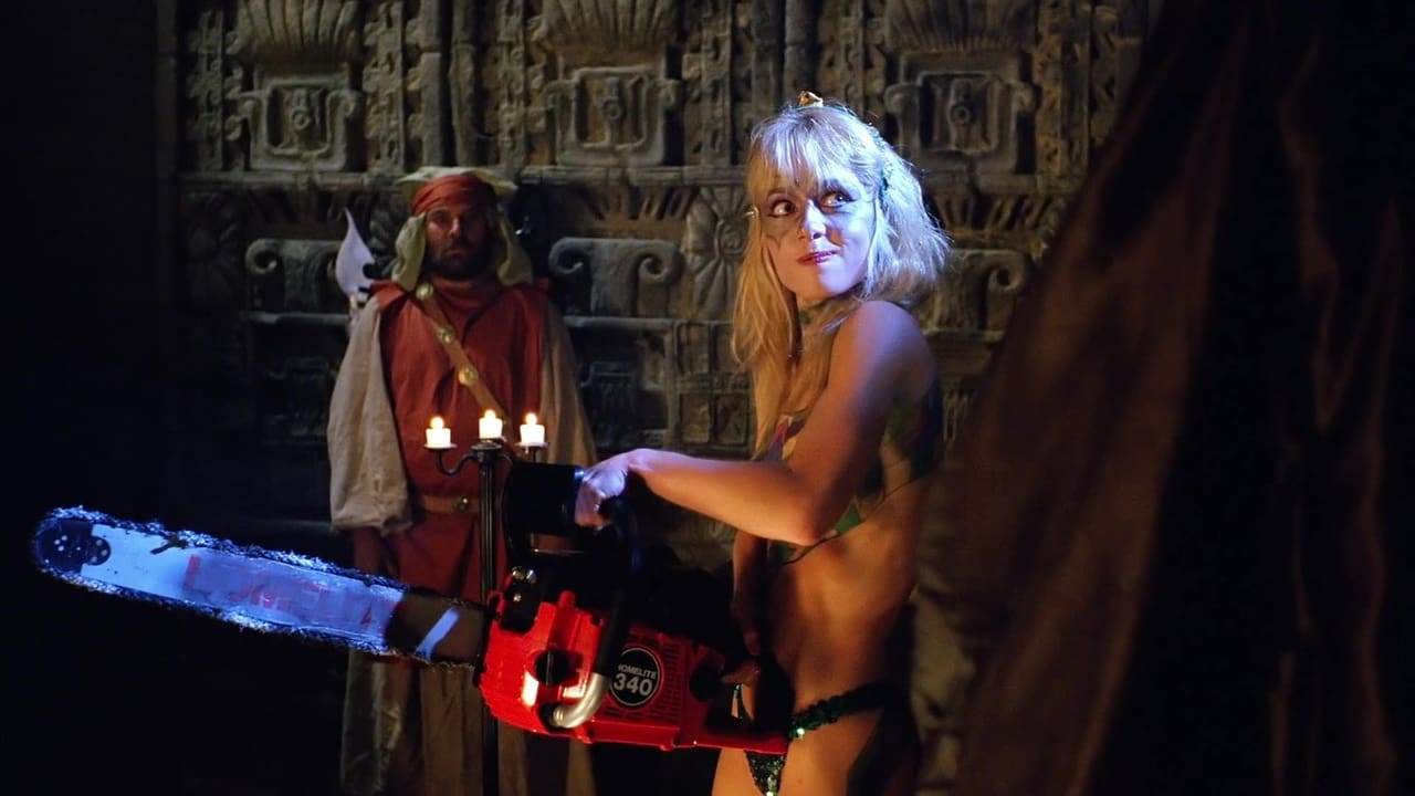 Linnea Quigley in Hollywood Chainsaw Hookers (1988)