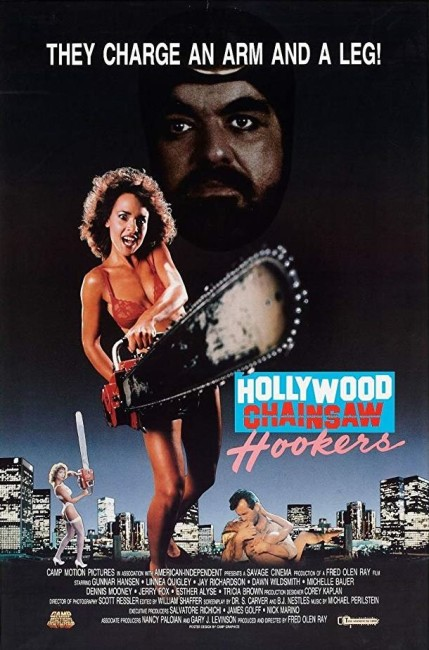 Hollywood Chainsaw Hookers (1988) poster 2