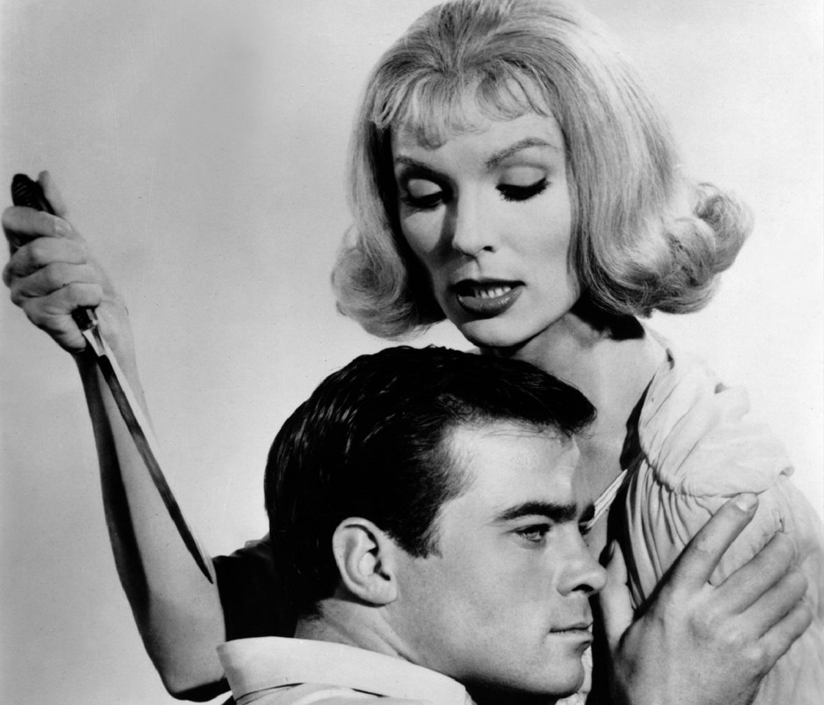 Glenn Corbett and Jean Arless in Homicidal (1961)