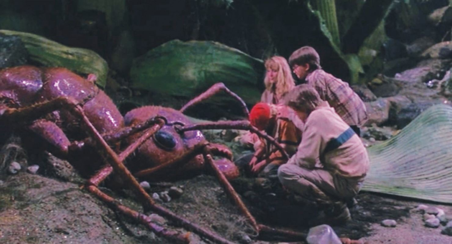 The kids and ant in Honey, I Shrunk the Kids (1989)