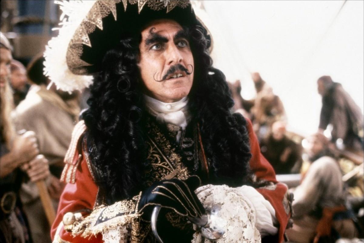 Dustin Hoffman as Captain Hook