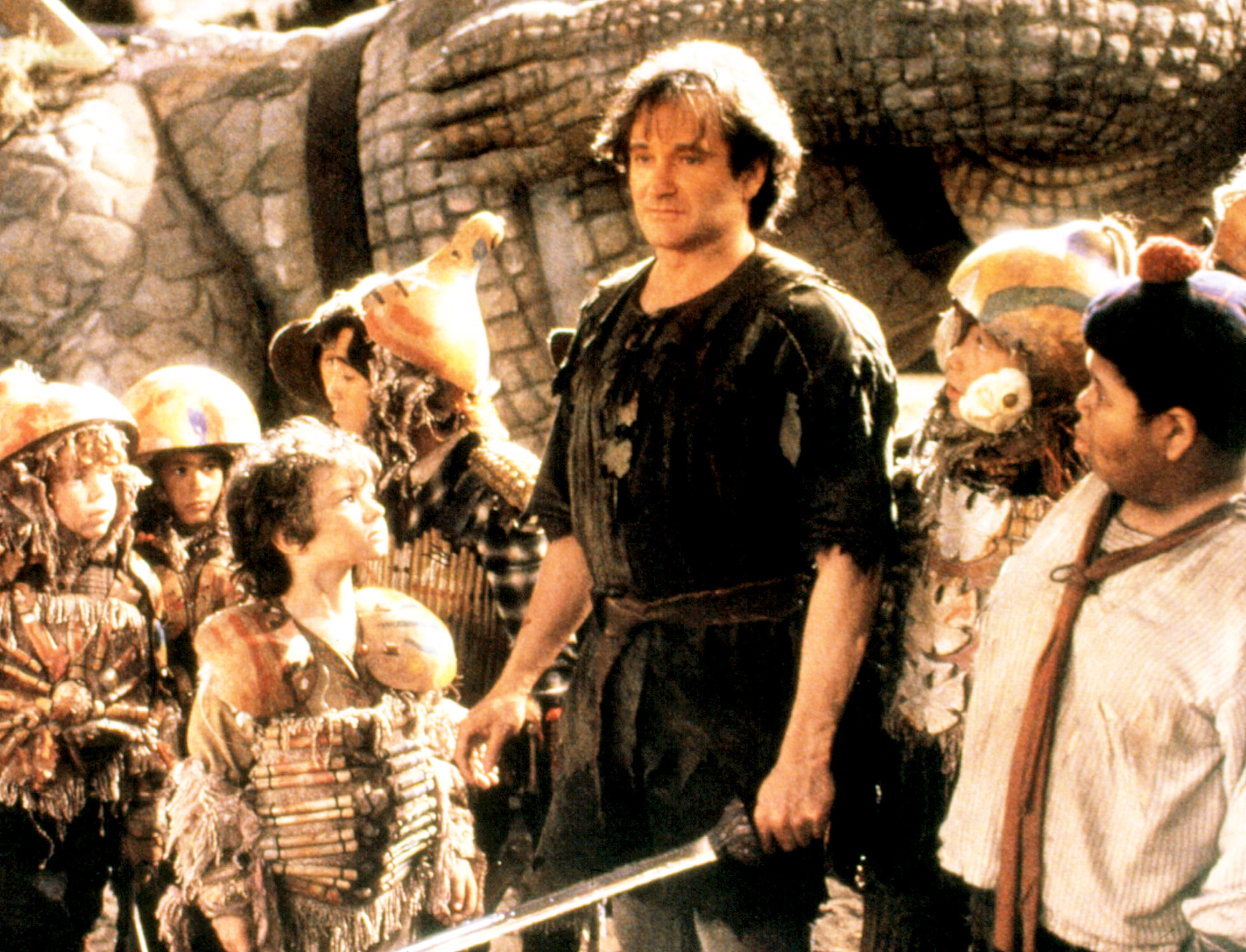 A grown-up Peter Pan (Robin Williams) in Hook (1991)