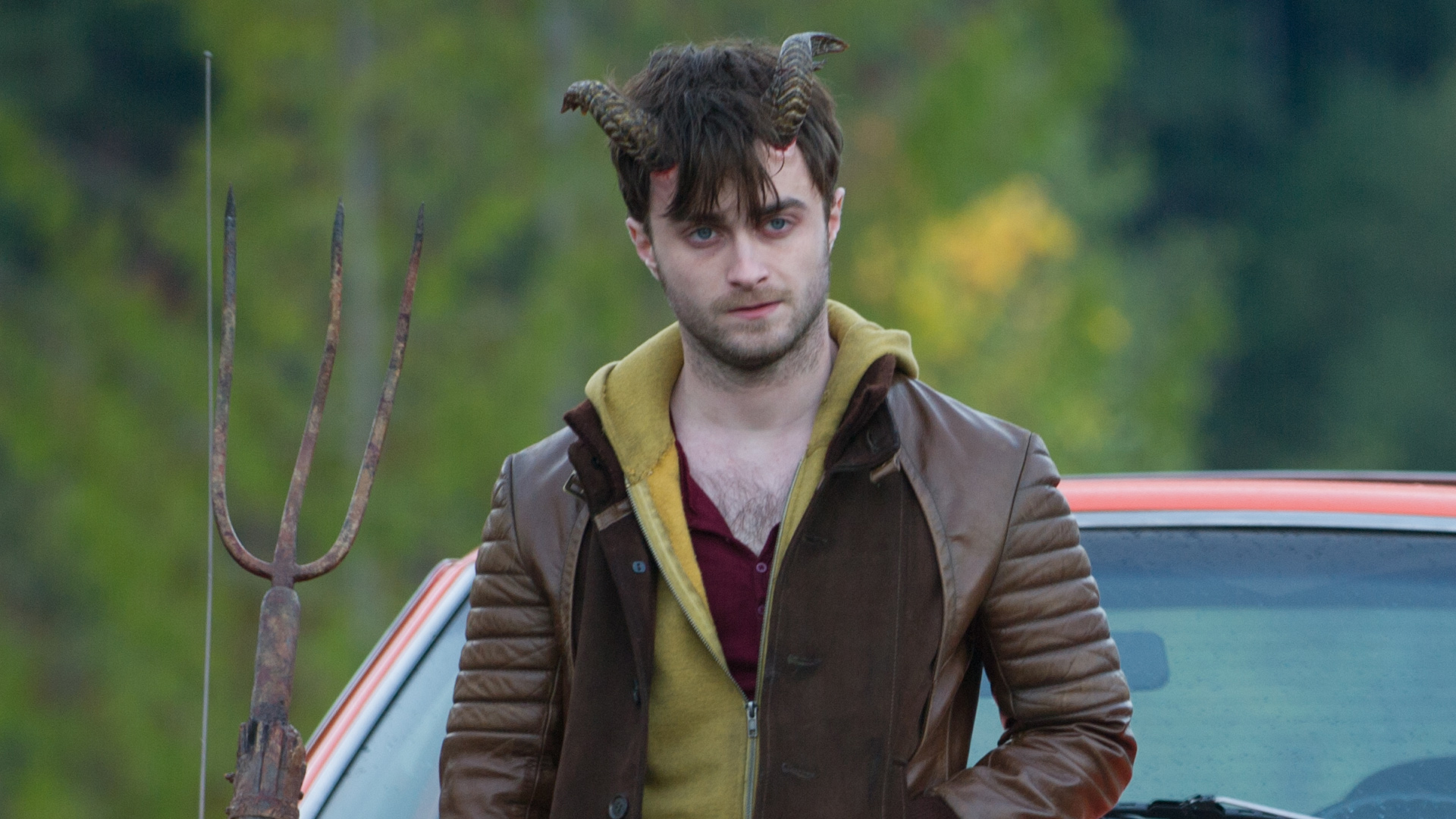 Daniel Radcliffe develops a set of Horns (2013)