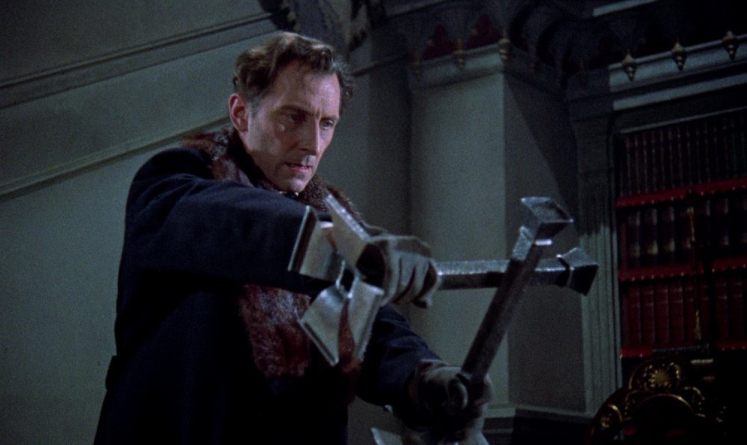 Peter Cushing as Van Helsing in The Horror of Dracula (1958)