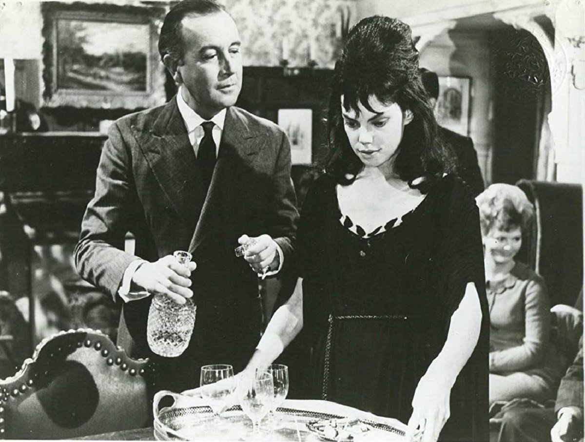 Dennis Price and Andree Melly in The Horror of It All (1964)