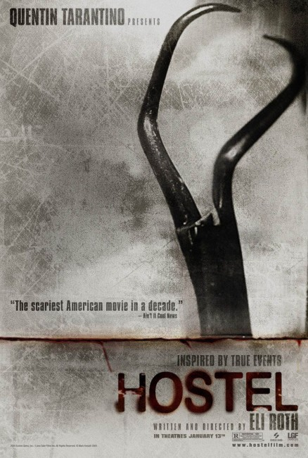 Hostel (2005) theatrical poster