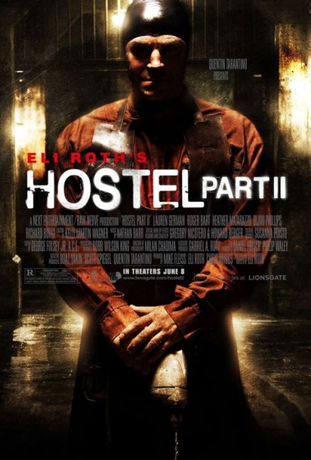Hostel Part II (2007) theatrical poster