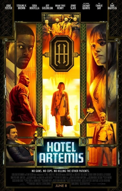 Hotel Artemis (2018) poster