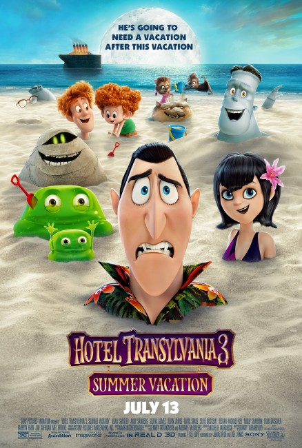 Hotel Transylvania 3 Summer Vacation (2018) poster
