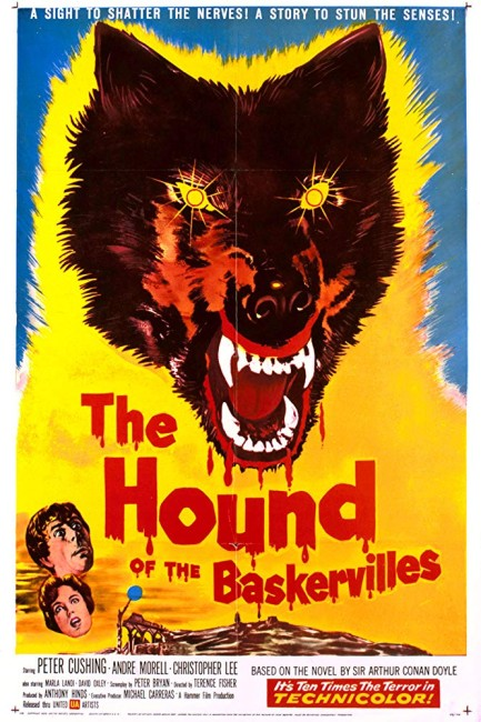 The Hound of the Baskervilles (1959) poster