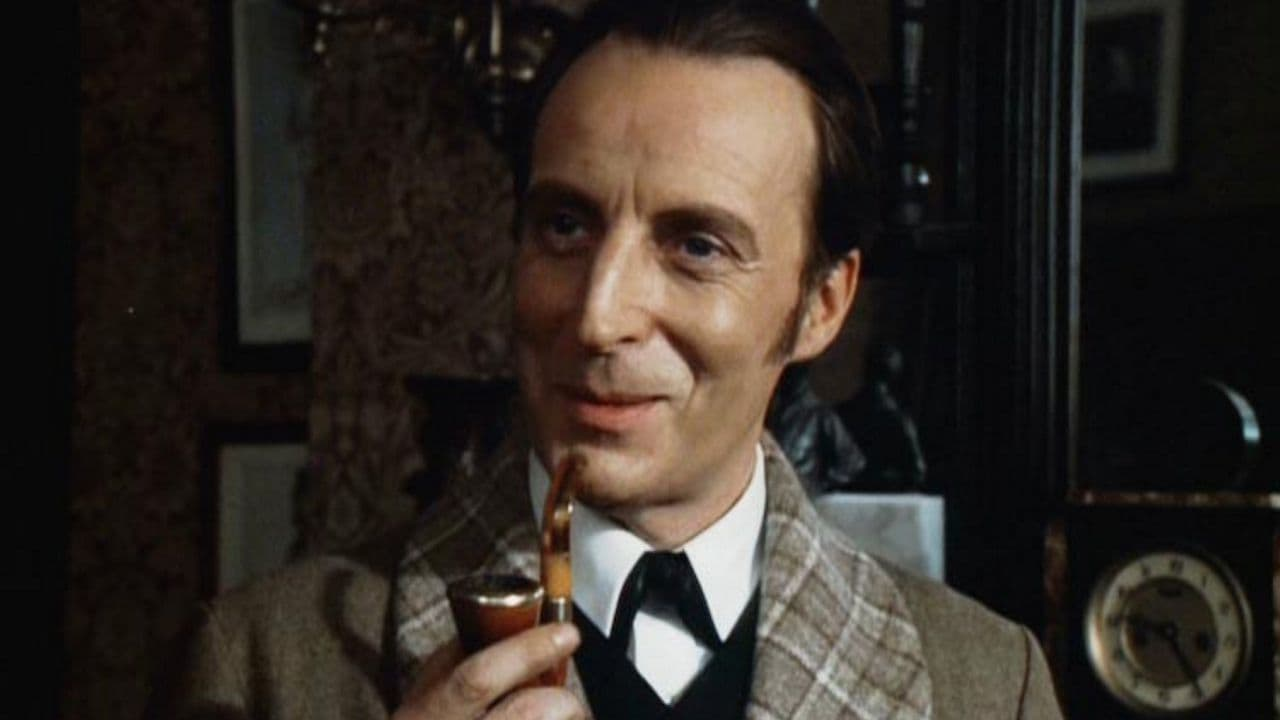 Ian Richardson as Sherlock Holmes in The Hound of the Baskervilles (1983)