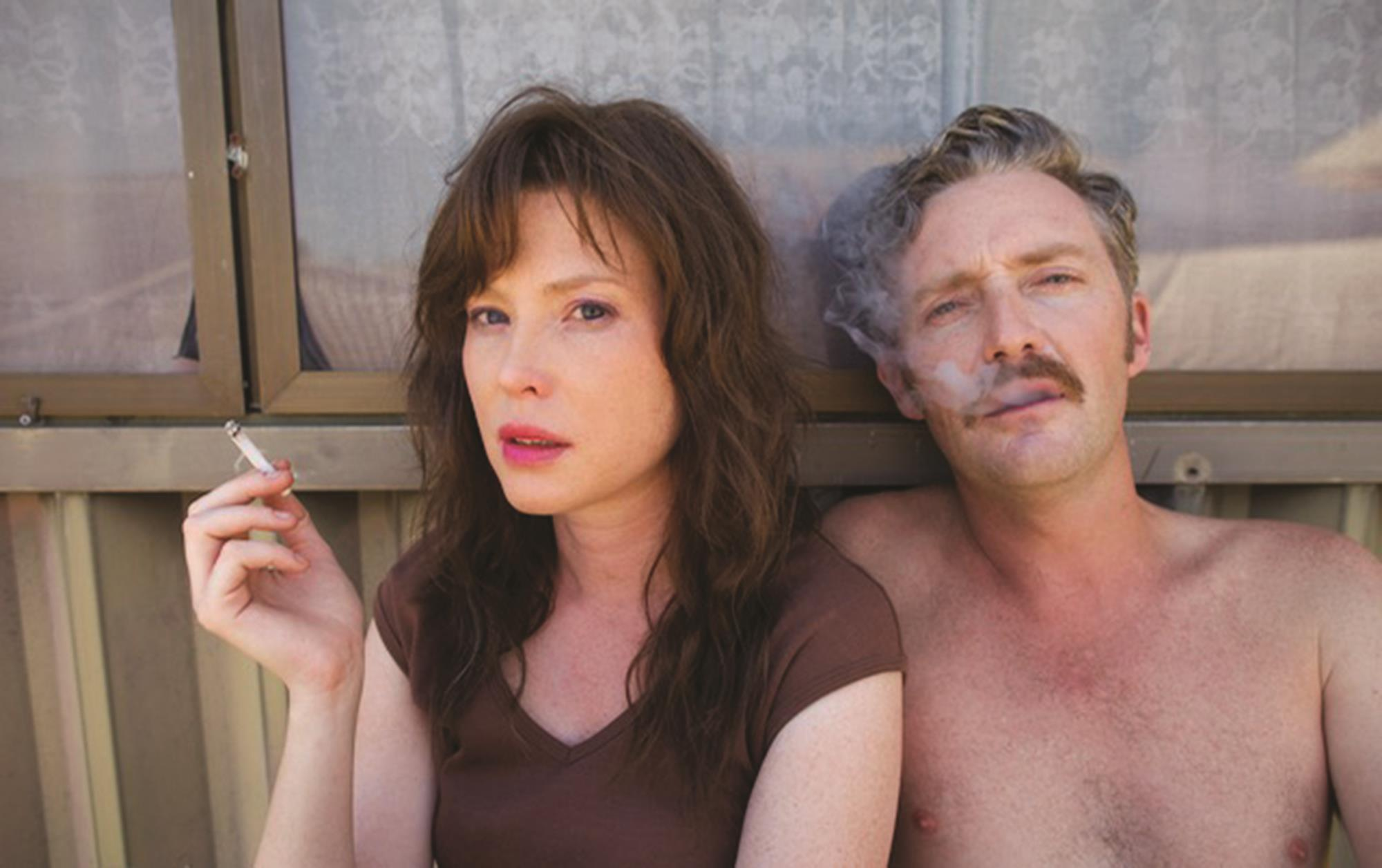 The abductors - Emma Booth and John White in Hounds of Love (2016)