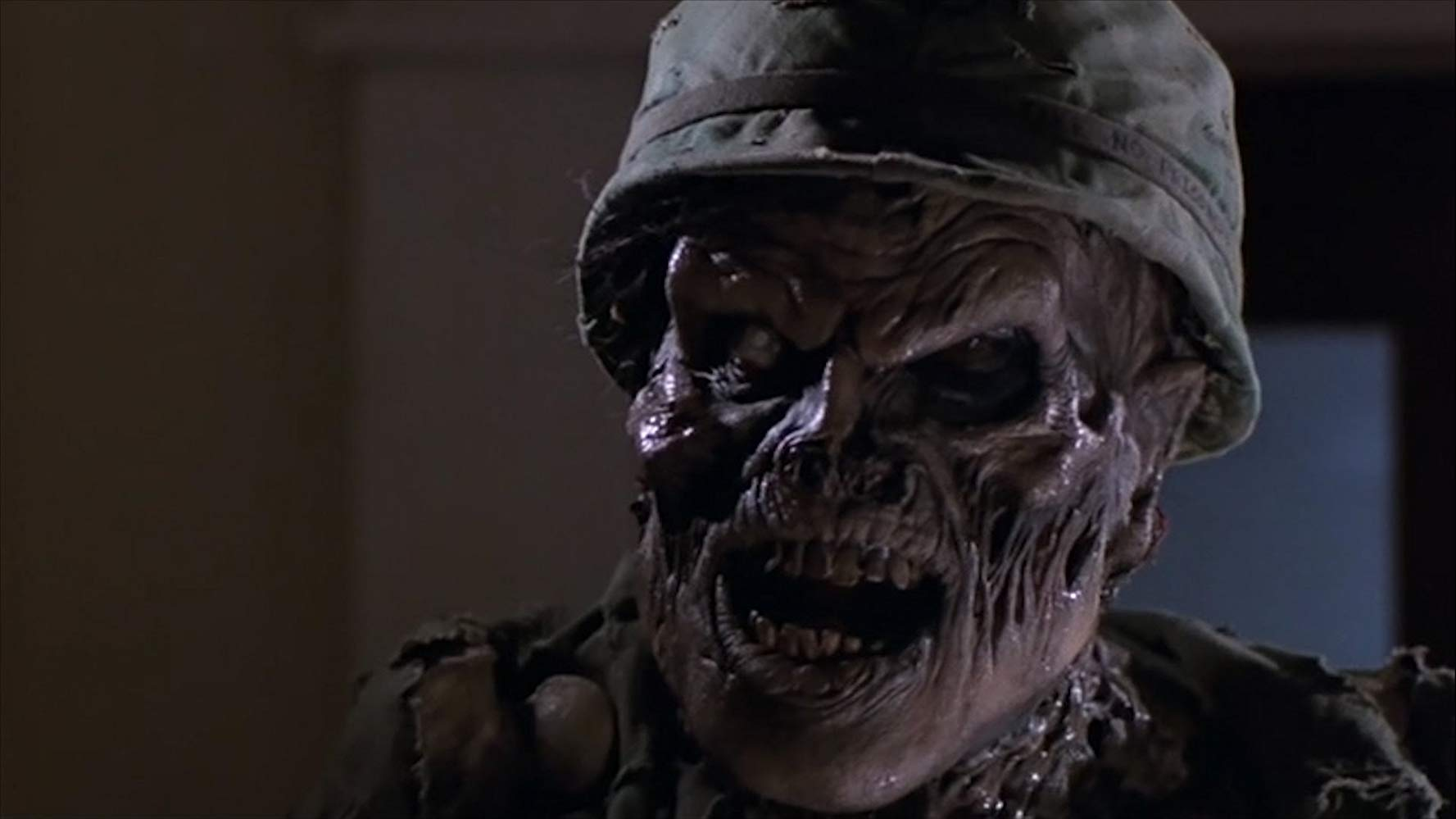 Big Ben (Richard Moll), the undead Vietnam War veteran in House (1986)