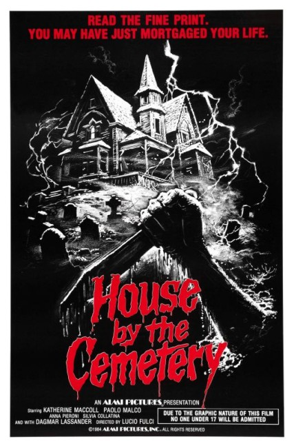 The House By the Cemetery (1981) poster