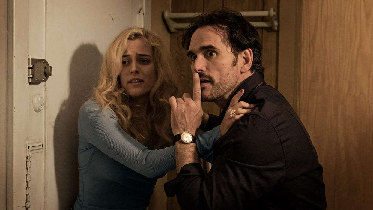 Jack (Matt Dillon) with Riley Keough, his sole relationship, whom he nicknames Simple in The House That Jack Built (2018)