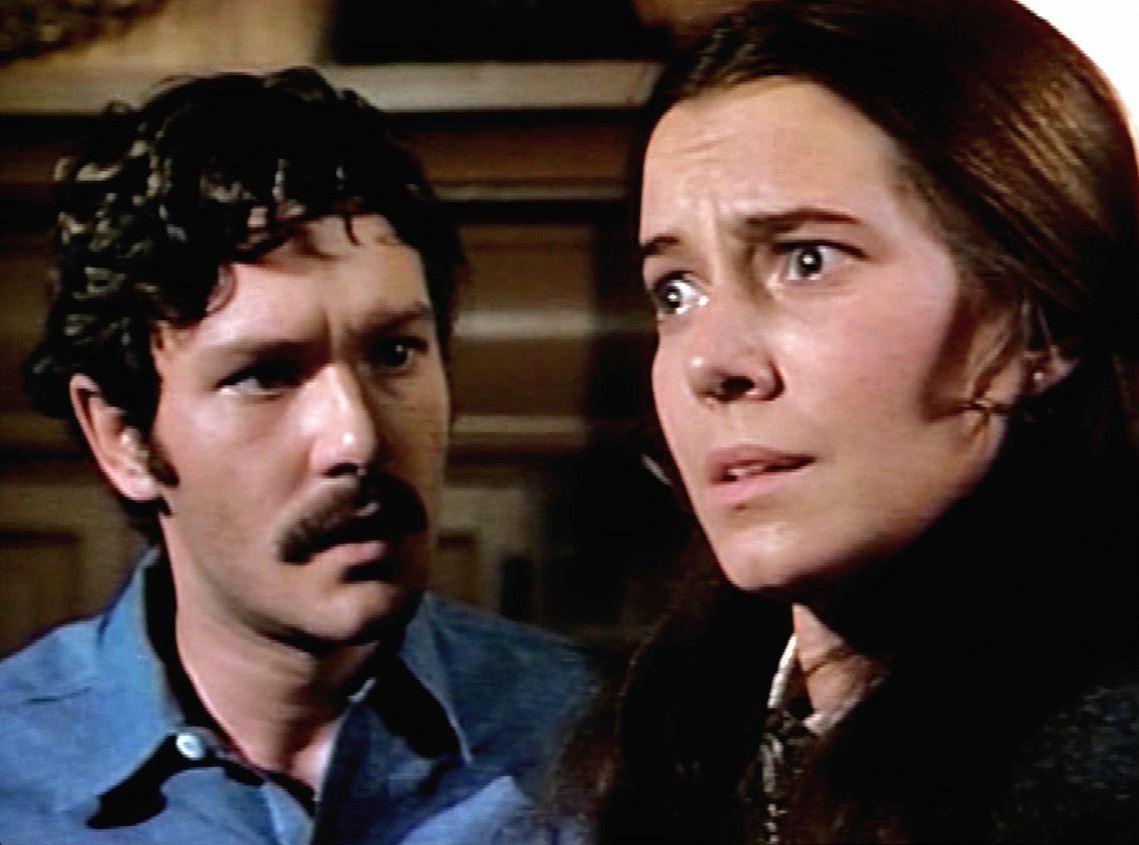 Michael Anderson Jr and Kitty Winn in The House That Would Not Die (1970)
