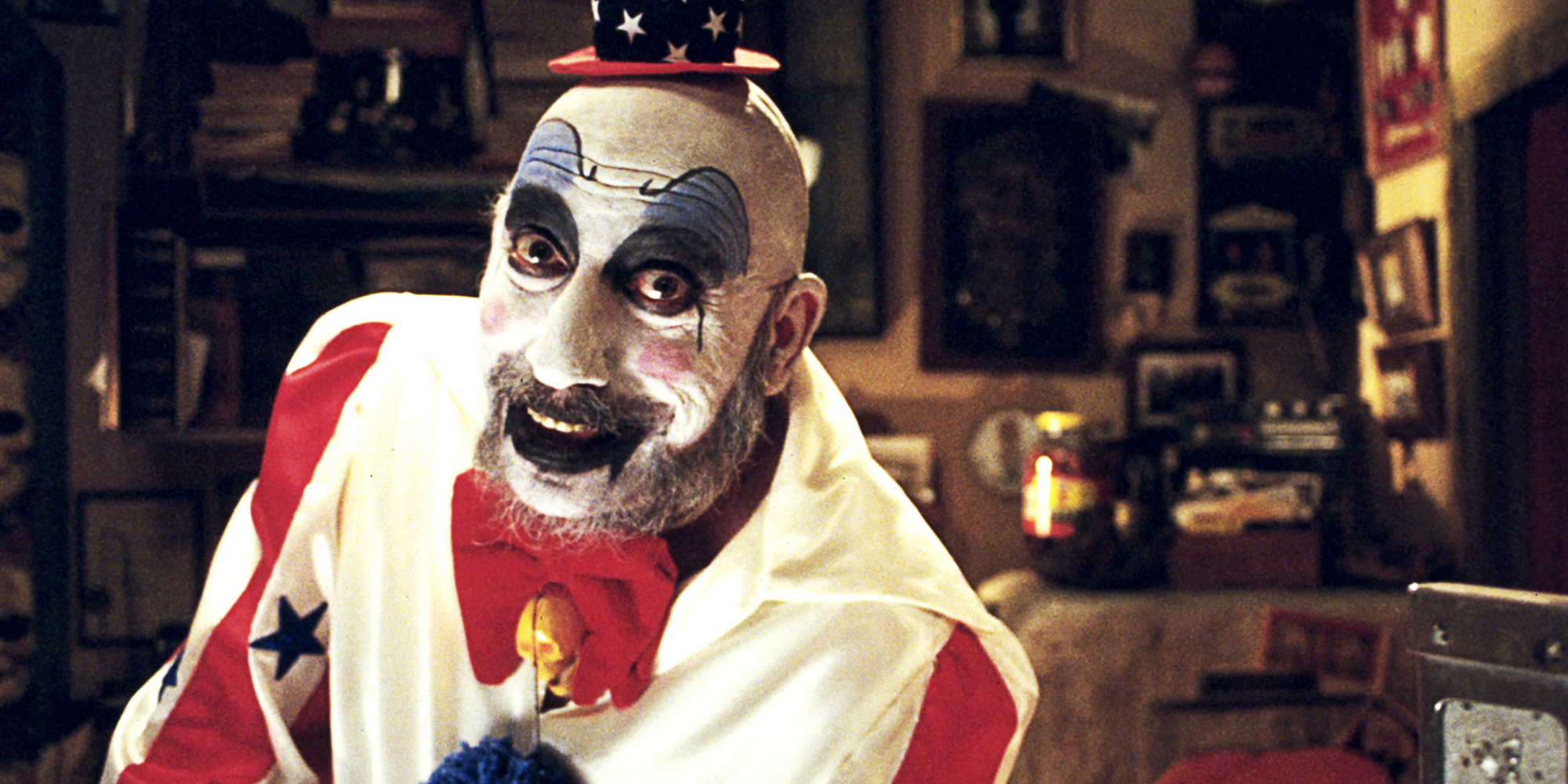 Sid Haig as Captain Spaulding in House of 1000 Corpses (2003)