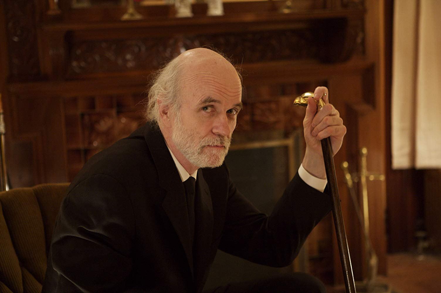 The sinister client Mr Ulman (Tom Noonan) in The House of the Devil (2009)