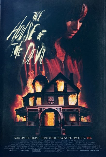 The House of the Devil (2009) poster