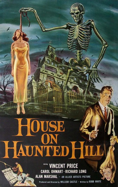 House on Haunted Hill (1959) poster