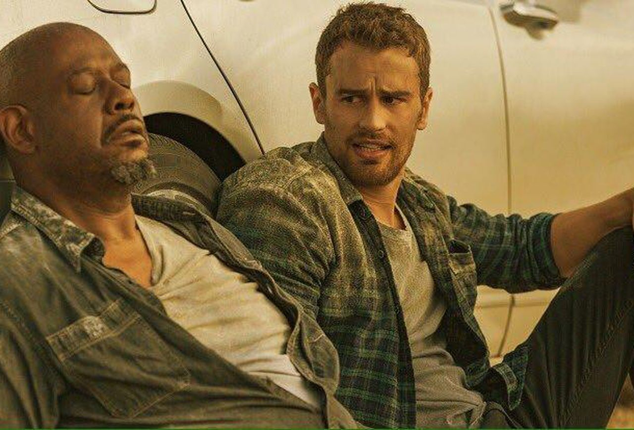 Theo James, Forest Whitaker in How It Ends (2018)