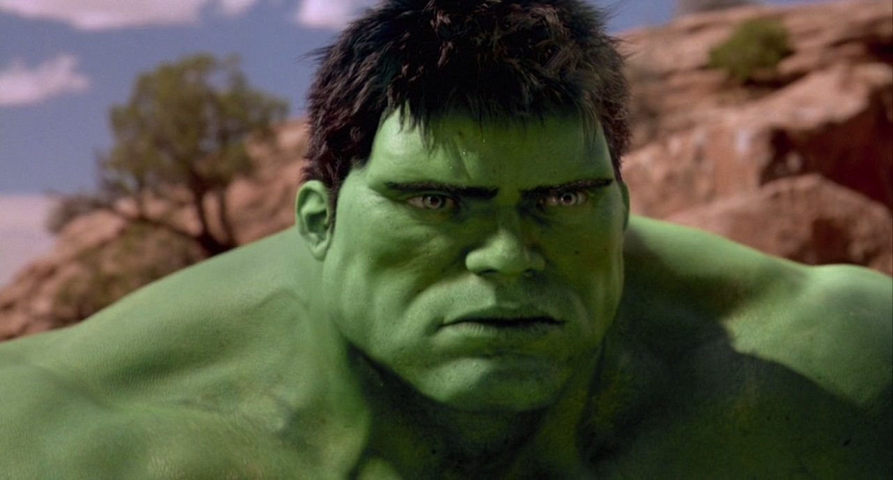 Eric Bana as The Hulk in Hulk (2003)