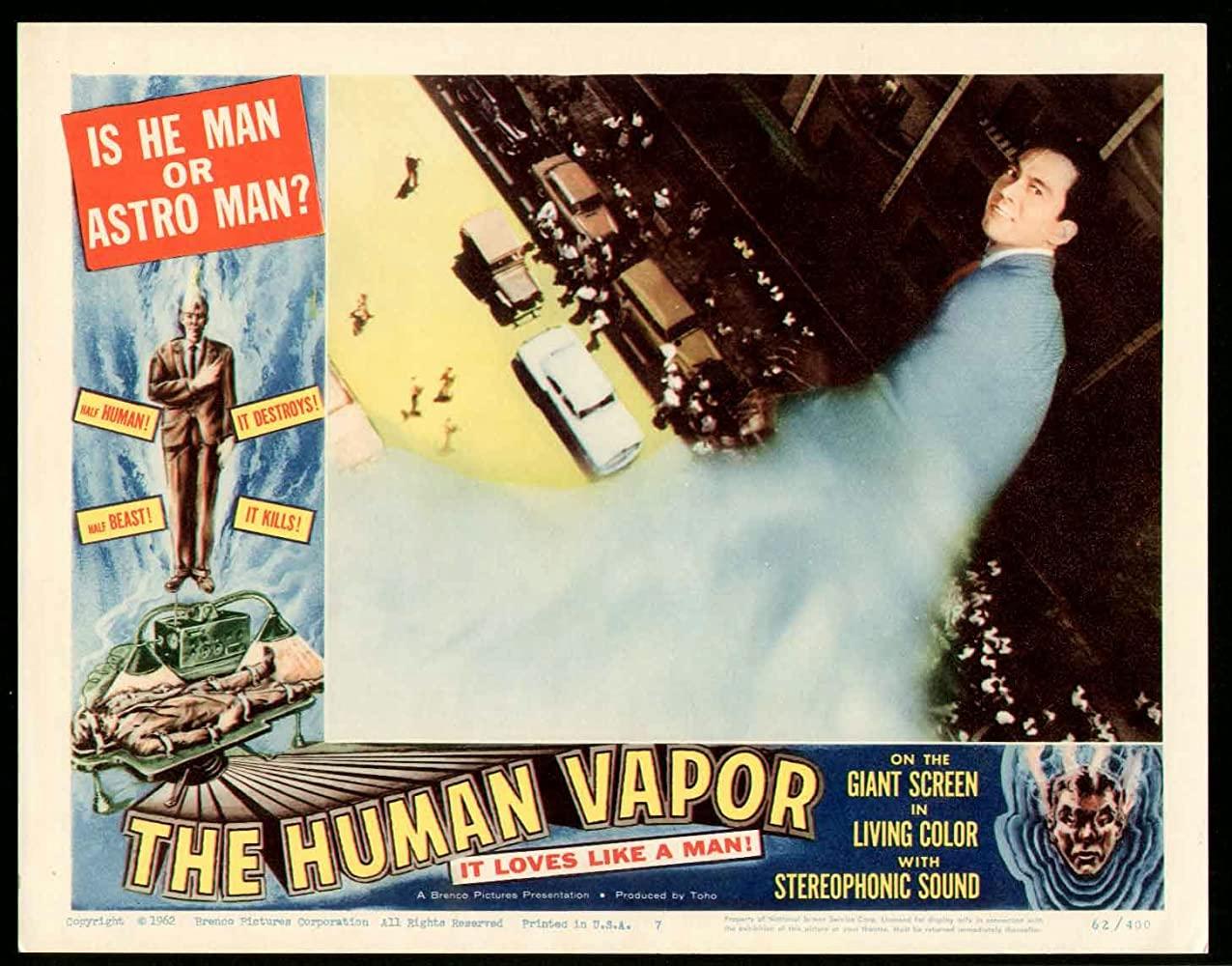 Yoshio Tatiya as The Human Vapor (1960)