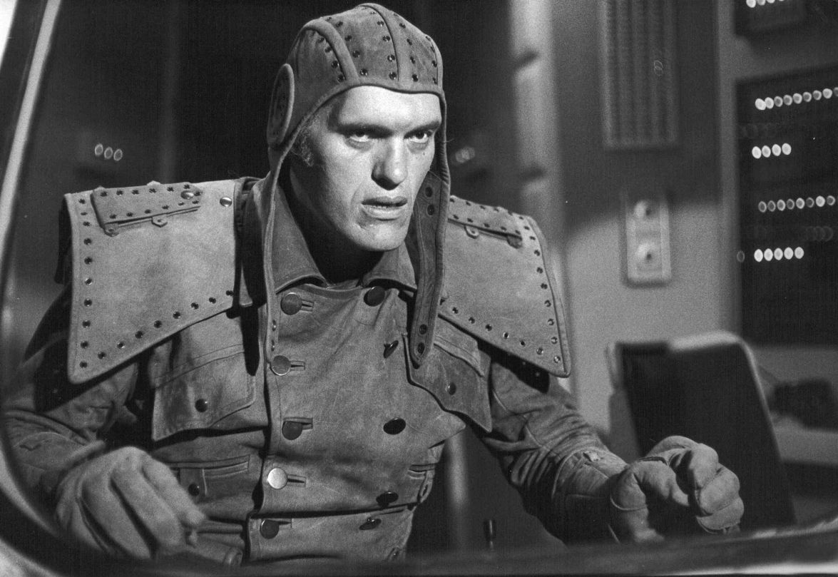 Richard Kiel as Inspector Golob in The Humanoid (1979)